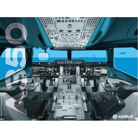 Airbus A350 XWB Cockpit Poster