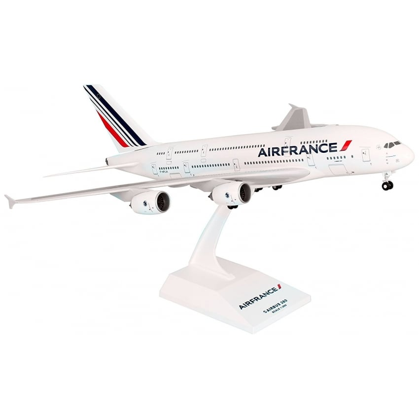 Airbus A380 Air France Plastic Model - Scale 1:200