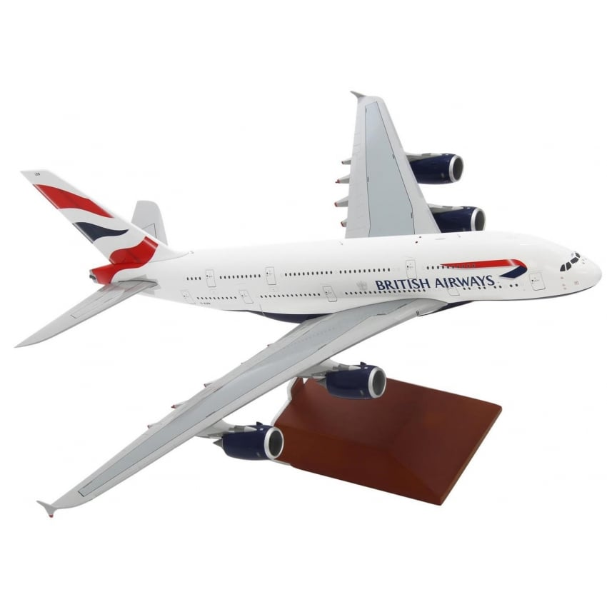 Airbus A380 British Airways Diecast Model - Scale 1:200