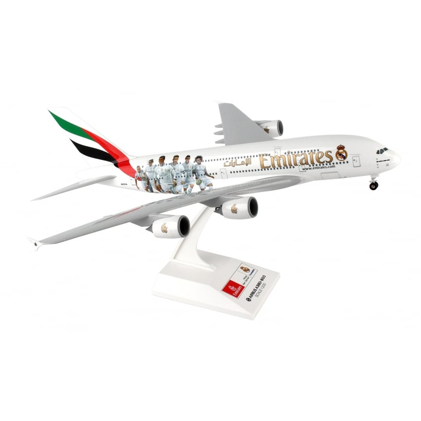 Airbus A380 Emirates Real Madrid - Scale 1:200