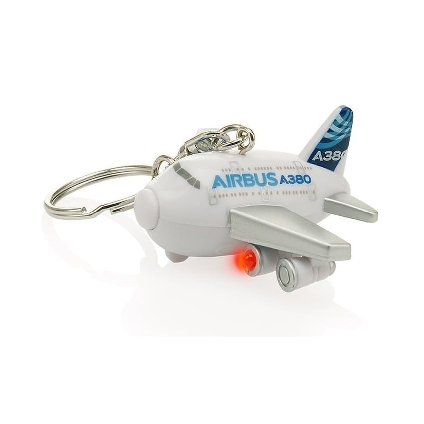 Airbus A380 Keyring with Light & Sound