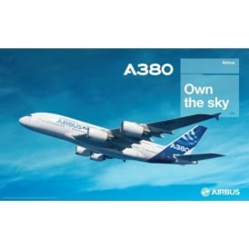 Airbus A380 Own The Sky Poster