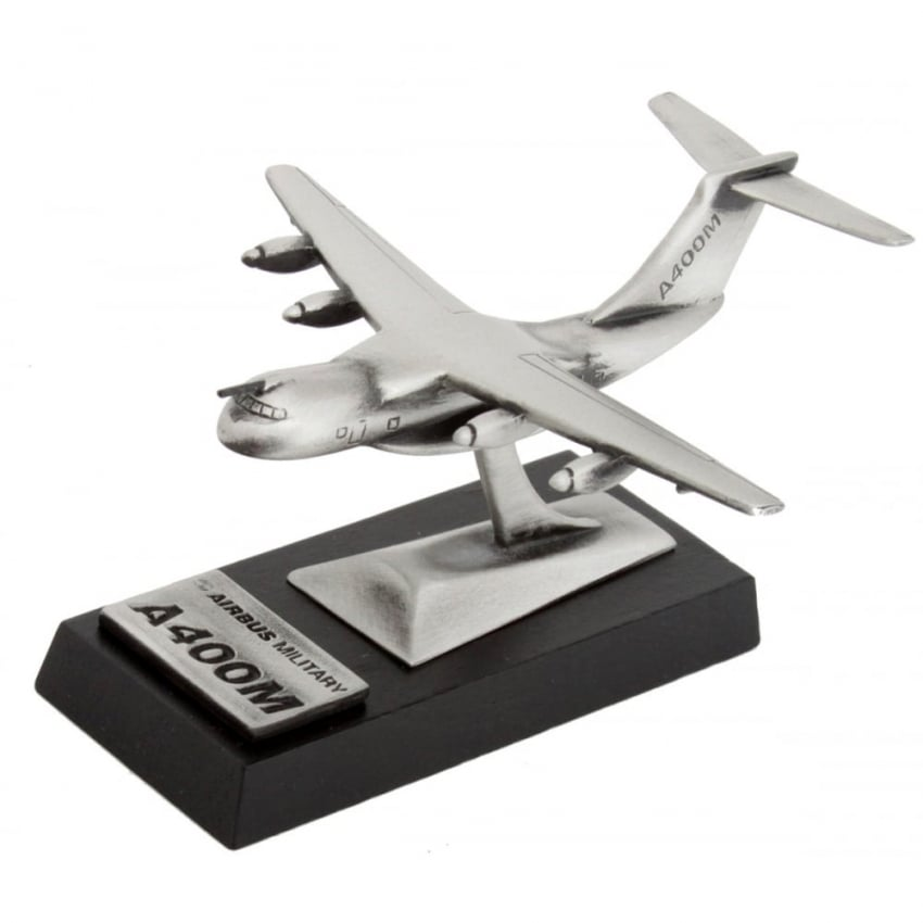 Airbus A400M Large Desk Model - Pewter