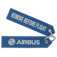 Airbus Blue Remove Before Flight Keyring