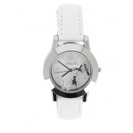 Airbus Ladies Chrome Watch