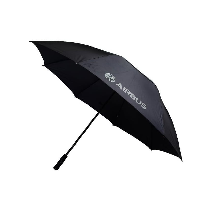 Airbus Large Black Golf Umbrella