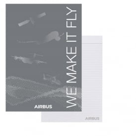 Airbus We Make It Fly A4 Notepad