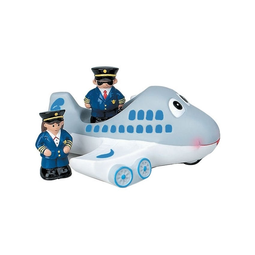 Airplane Captain Bath Toy