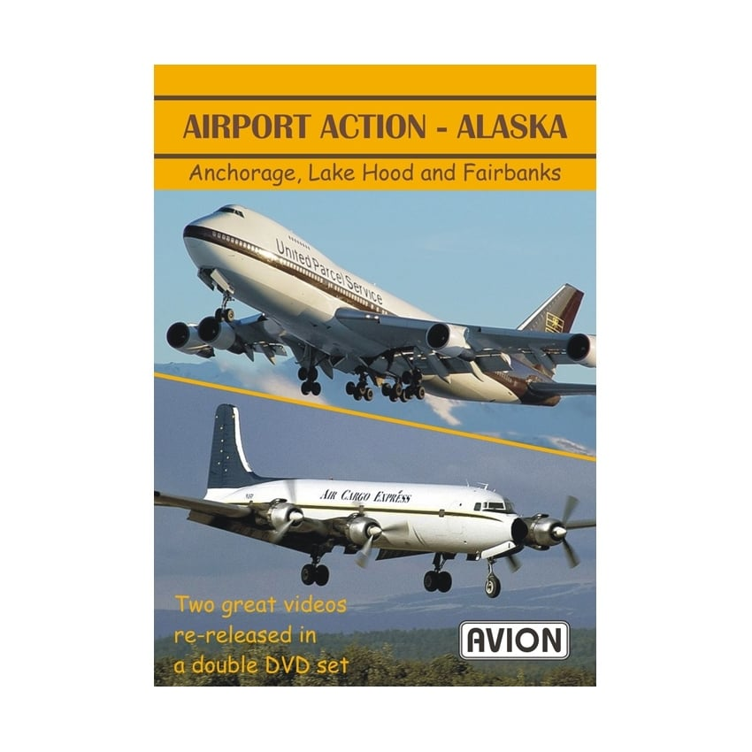 Airport Action - Alaska DVD