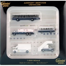Airport Service Vehicles 1:200 Scale Accessory Pack