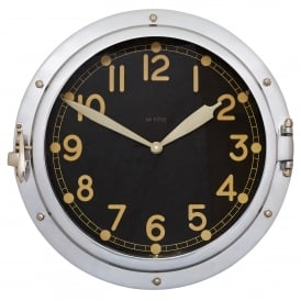 Airship Aluminium Wall Clock