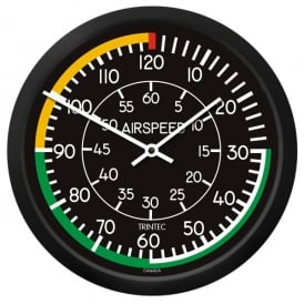 "Trintec Airspeed 10"" Wall Clock - 2060 Series"