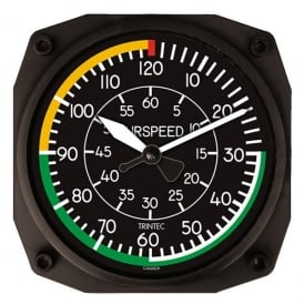 "Trintec Airspeed 10"" Wall Clock - Dispatch Series"