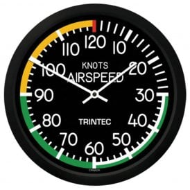 "Trintec Airspeed 14"" Wall Clock - 2060 Series"