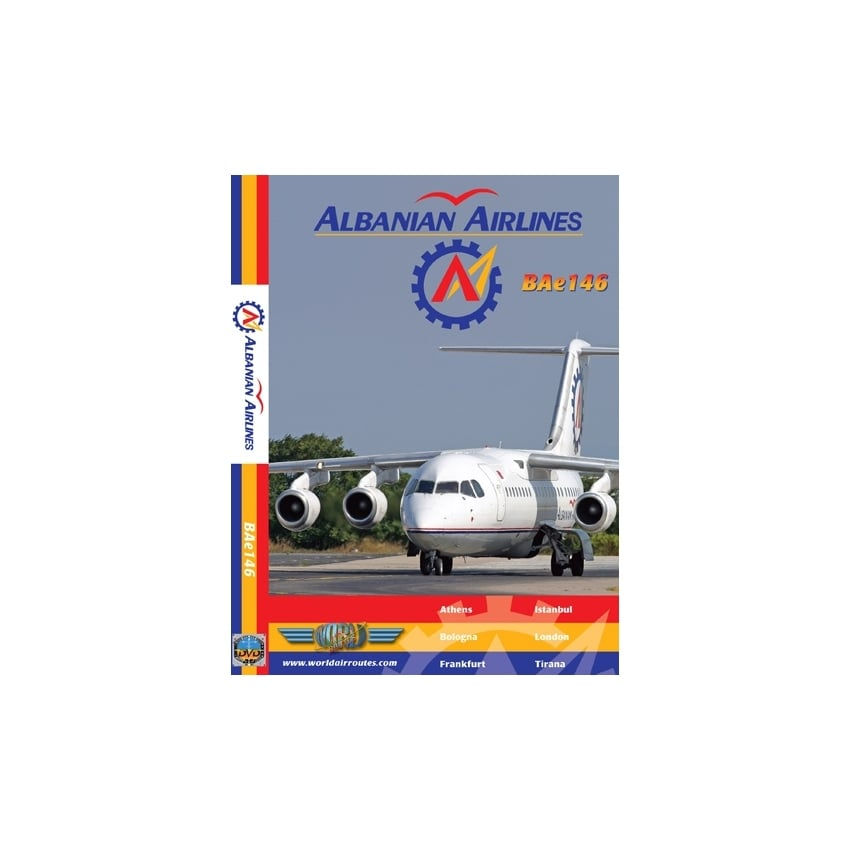 Albanian Airlines Bae 146-300 DVD