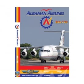 Just Planes Albanian Airlines Bae 146-300 DVD