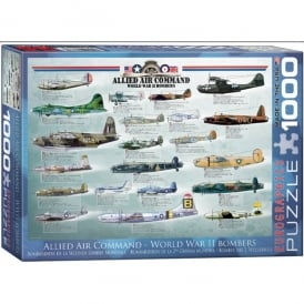 EuroGraphics Allied WW2 Bombers Jigsaw (1000 pieces)