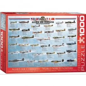 Allied WW2 Fighters Jigsaw (1000 pieces)