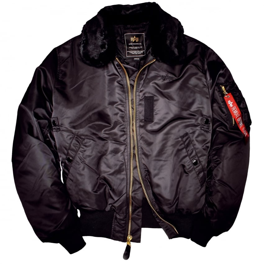 Alpha B15 Jacket - Black