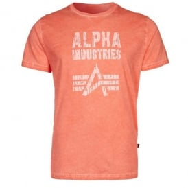 Alpha Crack Print T-Shirt