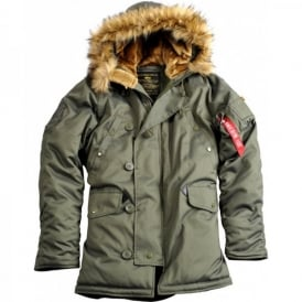 Alpha Industries Alpha Explorer Womens Parka W/O Patches