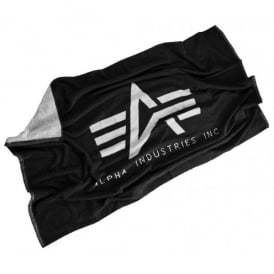 Alpha Industries Beach Towell - Black / White