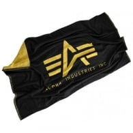 Alpha Industries Beach Towell - Black / Yellow