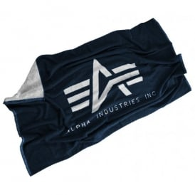 Alpha Industries Beach Towell - Navy / White