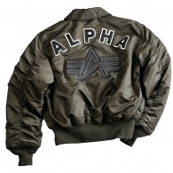 Alpha Industries CWU Big A Flight Jacket