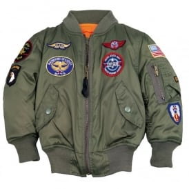 Alpha MA-1 Youths Flight Jacket