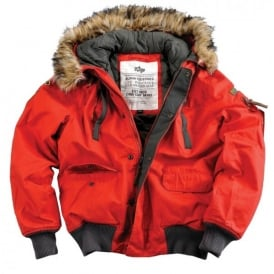 Alpha Industries Alpha Mountain Jacket - Red