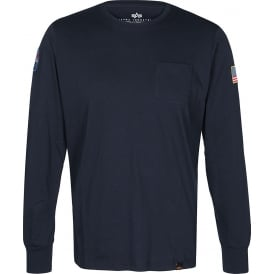 Alpha NASA LS T-Shirt