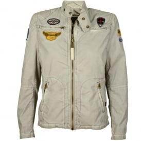 Alpha Industries Alpha Road Star Jacket - Dirty White