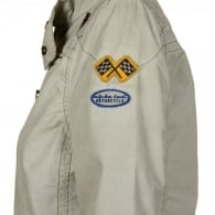Alpha Road Star Jacket - Dirty White