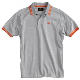 Alpha Twin Stripe Polo Shirt