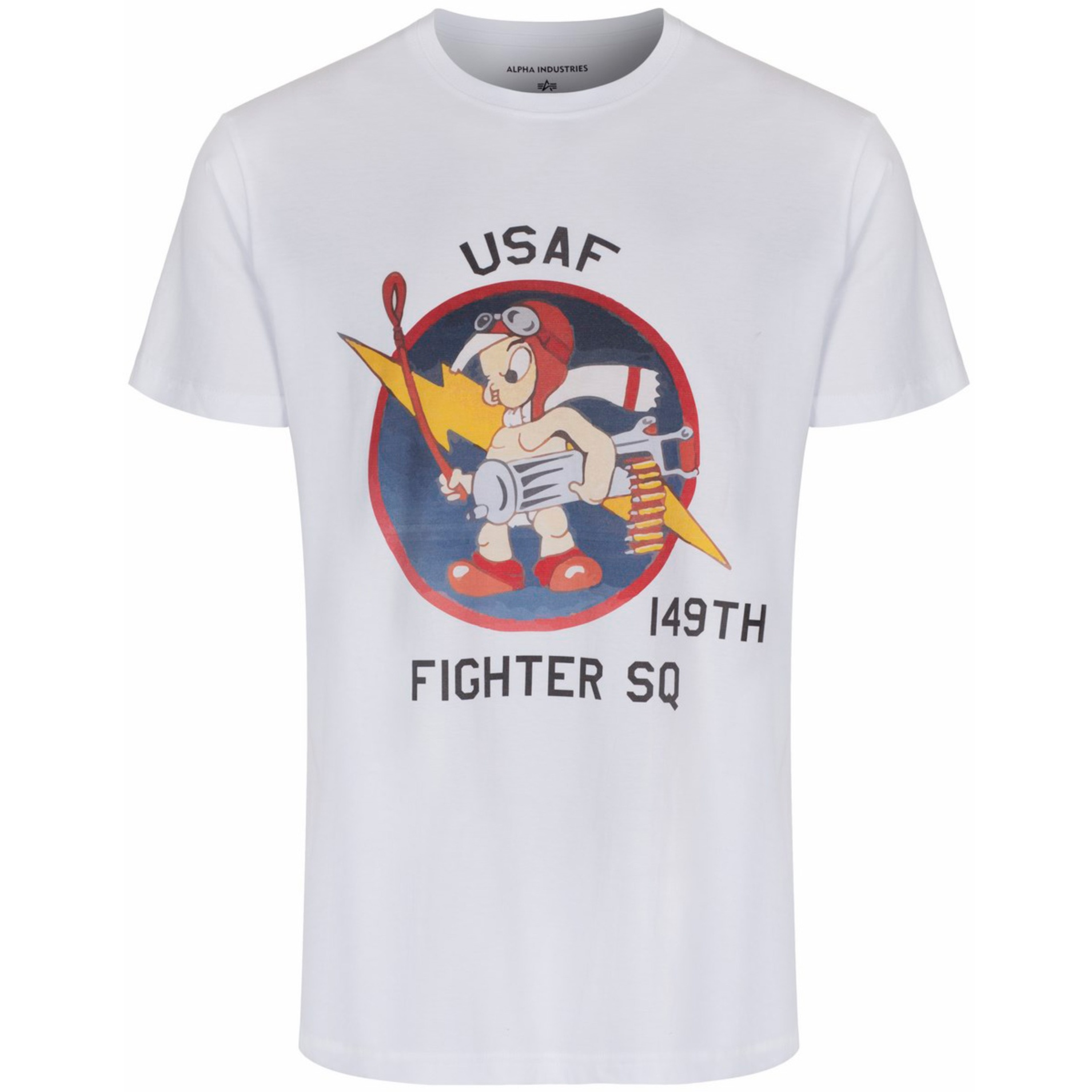 alpha industries alpha x present t shirt with 149th us fighter. Black Bedroom Furniture Sets. Home Design Ideas
