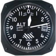 "Altimeter 10"" Wall Clock - Dispatch Series"