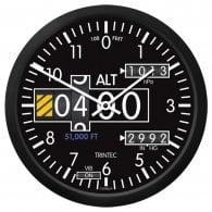 "Altimeter 14"" Wall Clock - 2060 Series"