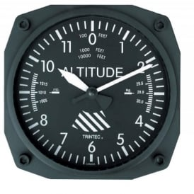 "Trintec Altimeter 6"" Wall Clock - Classic Series"