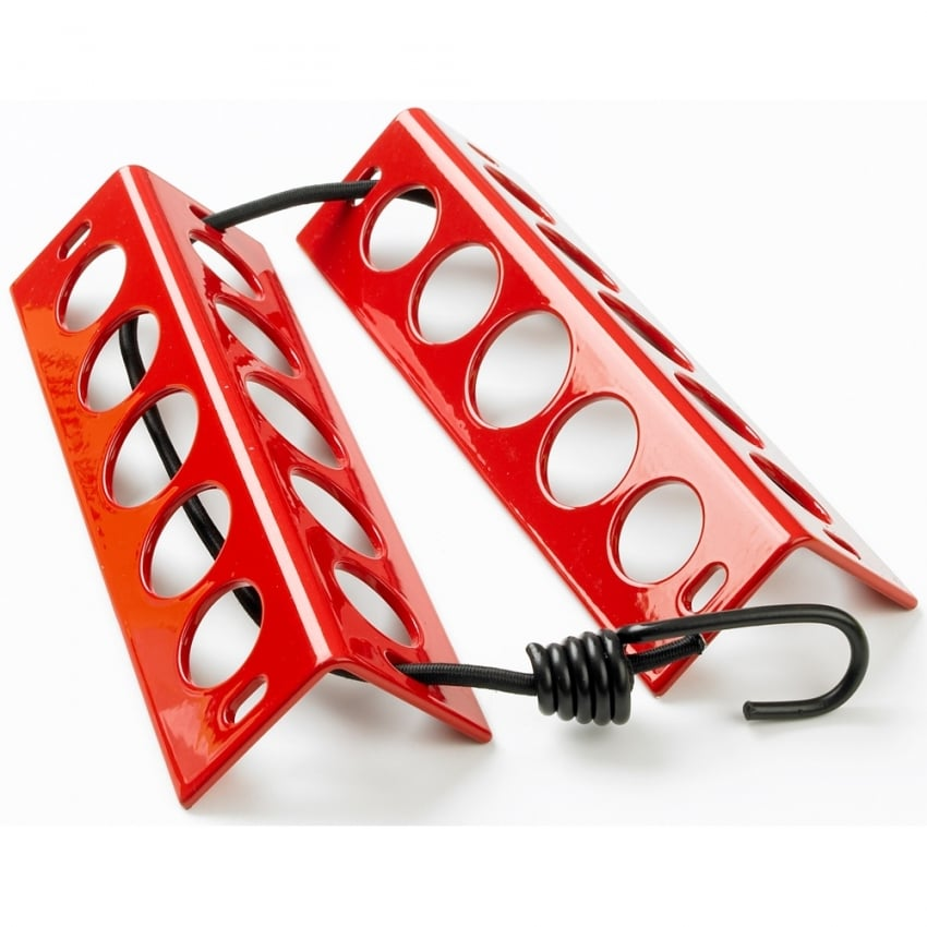 Aluminum Chocks - In Red