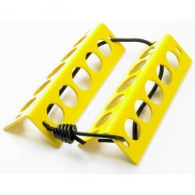 Aluminum Chocks - In Yellow