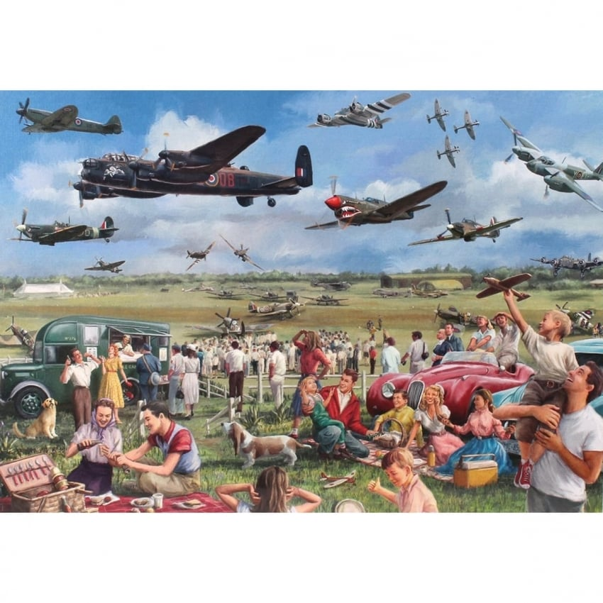 Amazing Airshow Jigsaw (1000 Pieces)