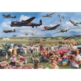 Jumbo Amazing Airshow Jigsaw (1000 Pieces)