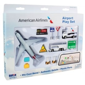 American Airlines 12 Piece Model Play Set