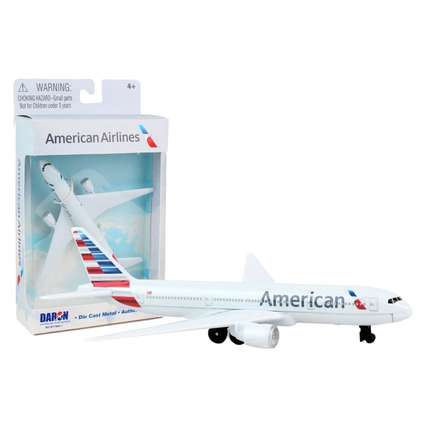 American Airlines Boeing 777 Diecast Toy