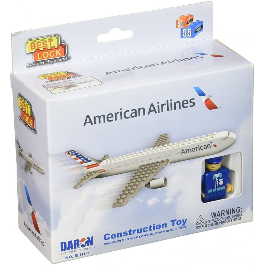 American Airlines Brick Building Set