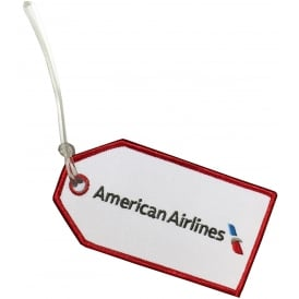 American Airlines Embroidered Baggage Tag