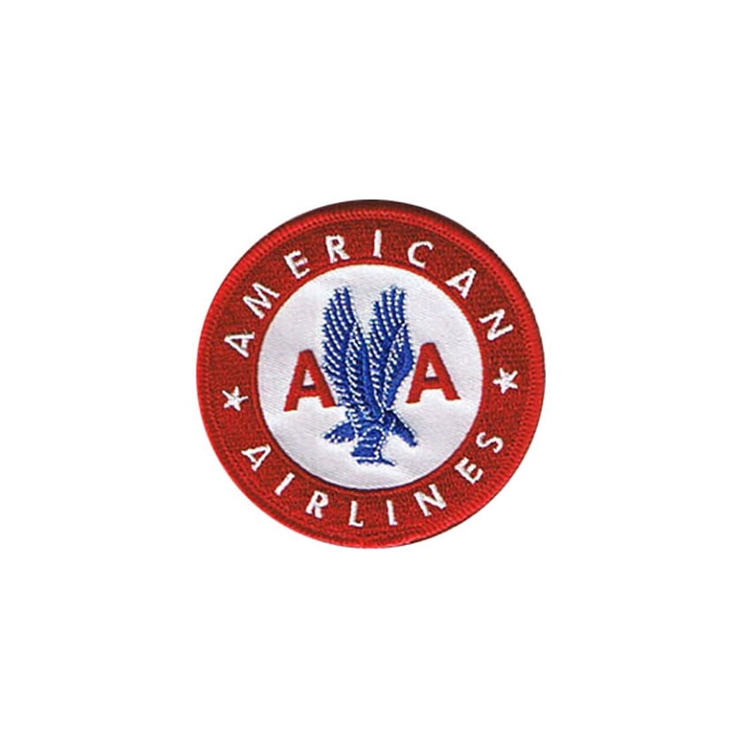 American Airlines Retro Iron on Patch