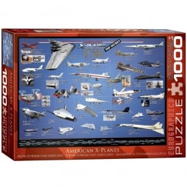 American X-Planes Jigsaw (1000 pieces)