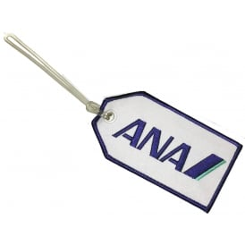ANA All Nippon Airways Embroidered Baggage Tag